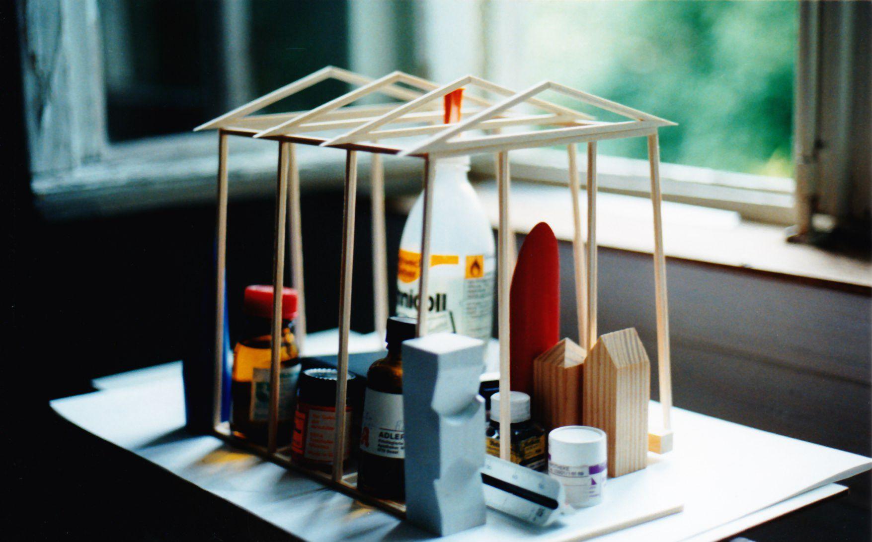 Punt Modell Zeltkonstruktion